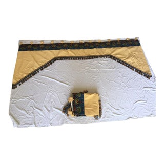 Three French Country Custom Made Valances For Sale