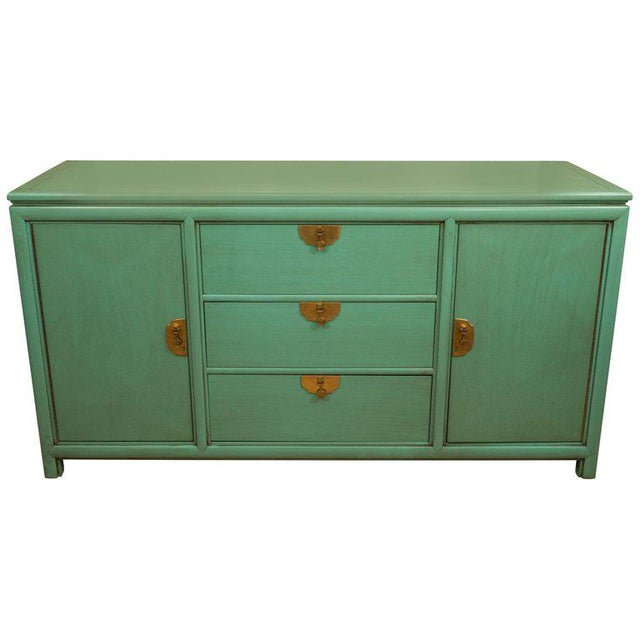 Thomasville Turquoise Chest - Image 11 of 11