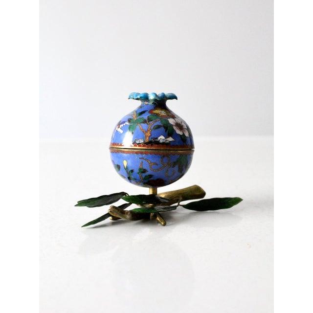 Antique Cloisonne Box For Sale - Image 12 of 12
