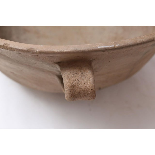 Clay Primitive Clay Cooking Bowl For Sale - Image 7 of 11