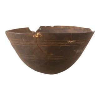 Vintage Wooden African Bowl