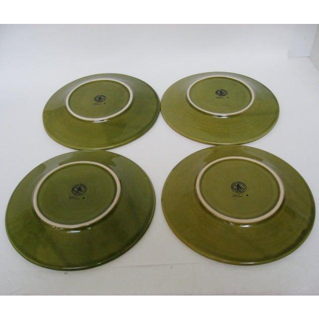 Portuguese Porcelain Fruit Plates - Set of 4 - Image 3 of 4