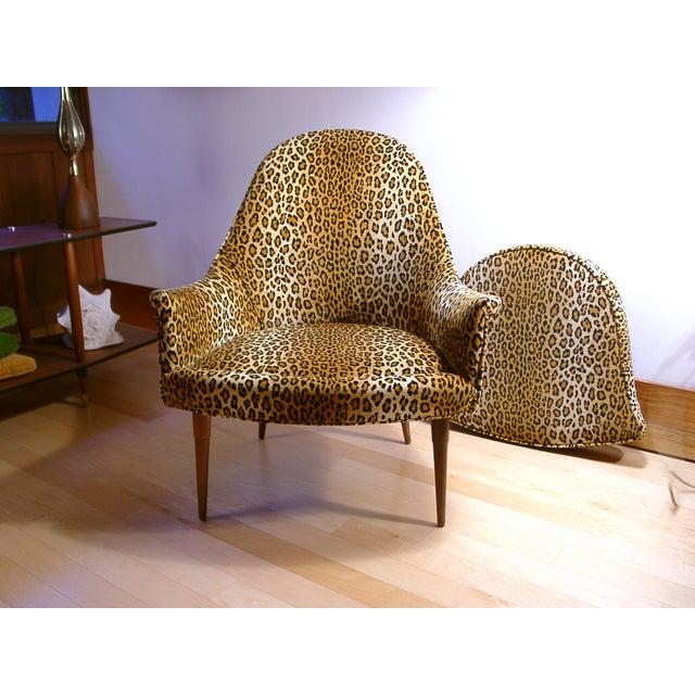 Sculptural Mid Century Danish Modern Chair - Image 2 of 9