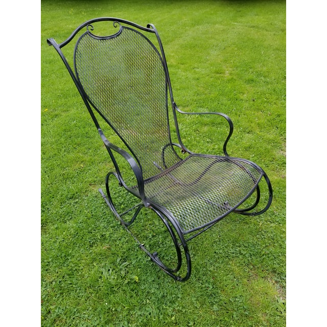 Rocking Chair by Russell Woodard chair to use with Sculptura Another Hard chair to find matches the Porter hooded chair...