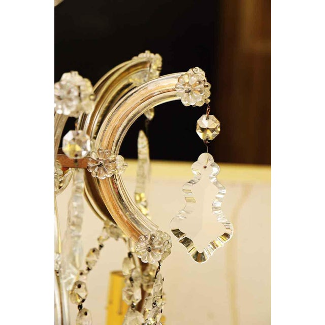 Marie Therese Crystal Antique Chandelier For Sale In New York - Image 6 of 12