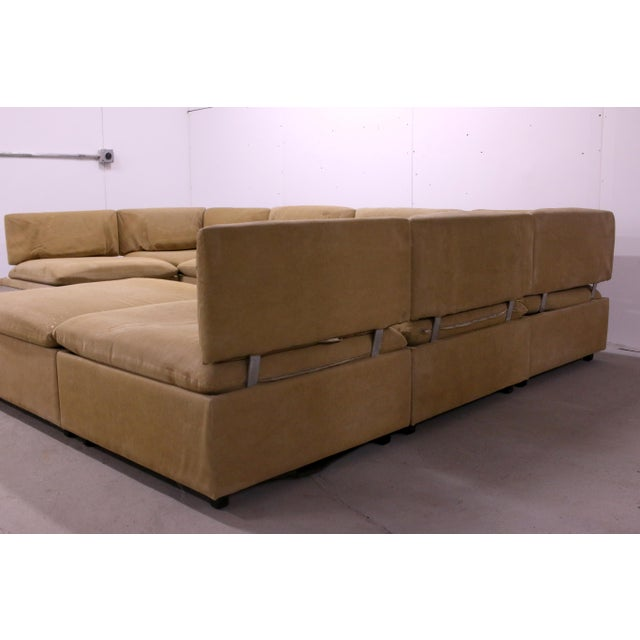 1970s Adrian Pearsall Modular Sectional Sofa for Craft Associates For Sale In Philadelphia - Image 6 of 13