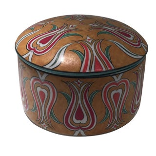 Handmade Turkish Lidded Bowl For Sale