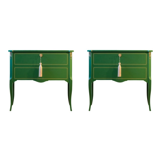 1940s Gustavian Louis XV Style Chests - a Pair For Sale