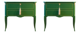Image of Green Dressers and Chests of Drawers
