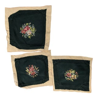 Victorian Style Floral Handmade Seat Covers For Sale