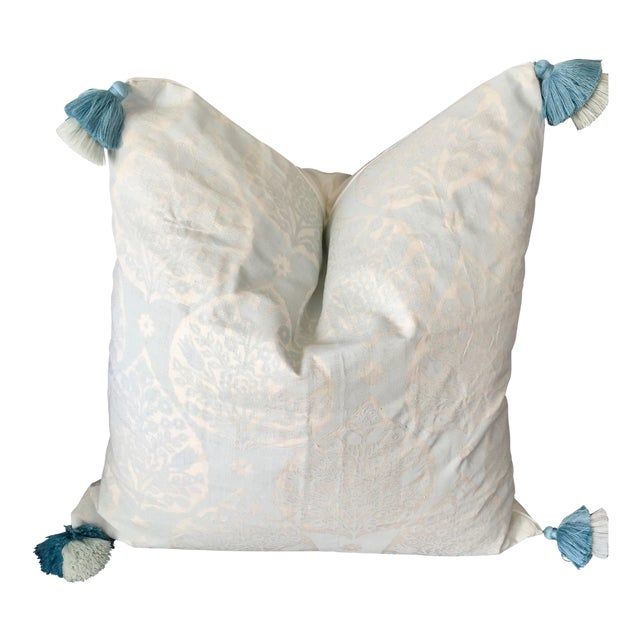 Custom Galbraith & Paul Little Lotus Pillow Cover For Sale