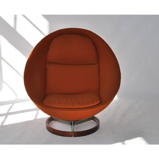 Large-Scale Scandinavian Lounge Chair - Image 2 of 8
