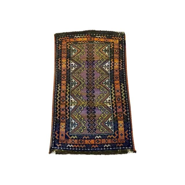 Semi Antique Turkish Anatolian Rug - 1′10″ × 3′4″ - Image 1 of 6