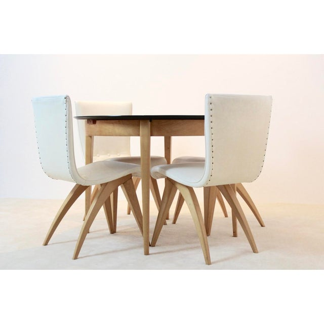 C.J. van OS Culemborg Dutch Birch Dining Set - Image 11 of 11
