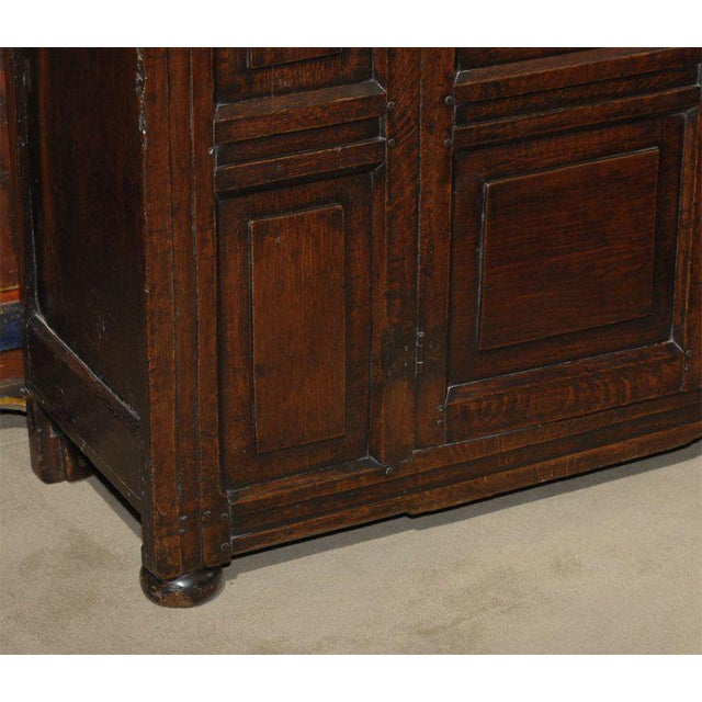 Early 19th Century Welsh Oak and Elm Cabinet For Sale - Image 4 of 4