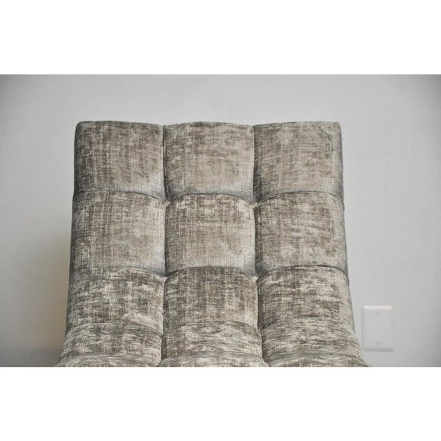 Milo Baughman Wave Chaise For Sale In Chicago - Image 6 of 7