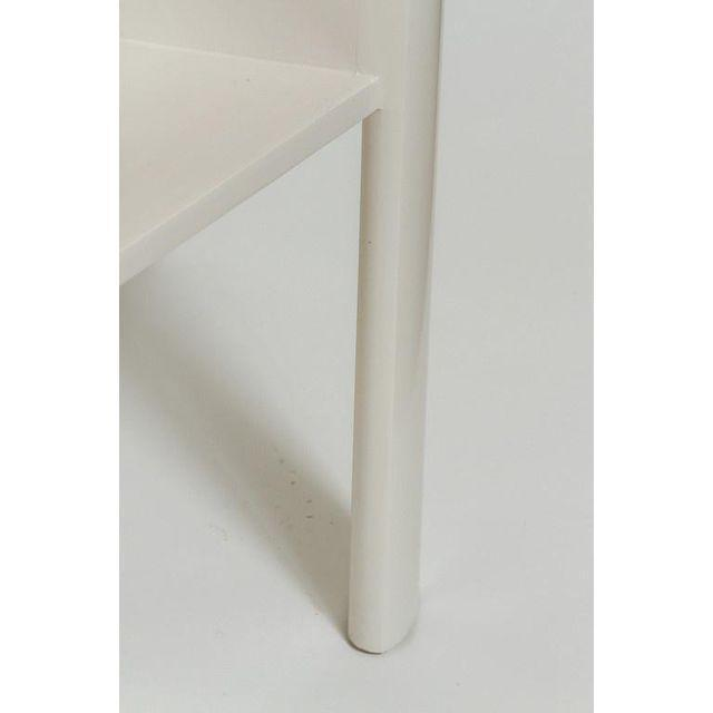 Minimalist Modern Lacquered Library Table by Martin and Brockett For Sale In Los Angeles - Image 6 of 7