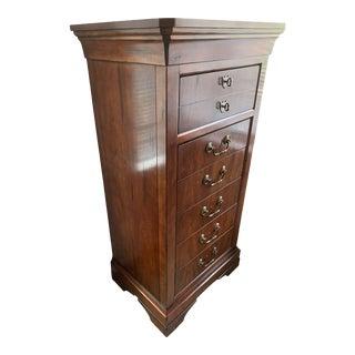 Traditional Henredon Tall Dresser For Sale