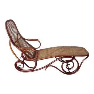 20th Century Mid-Century Modern Thonet Chaise Lounge Chair For Sale