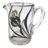 Image of MCM Mini Creamer Pitcher with Overlay Painting For Sale