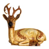 Image of Sergio Bustamante Paper Mache Deer For Sale