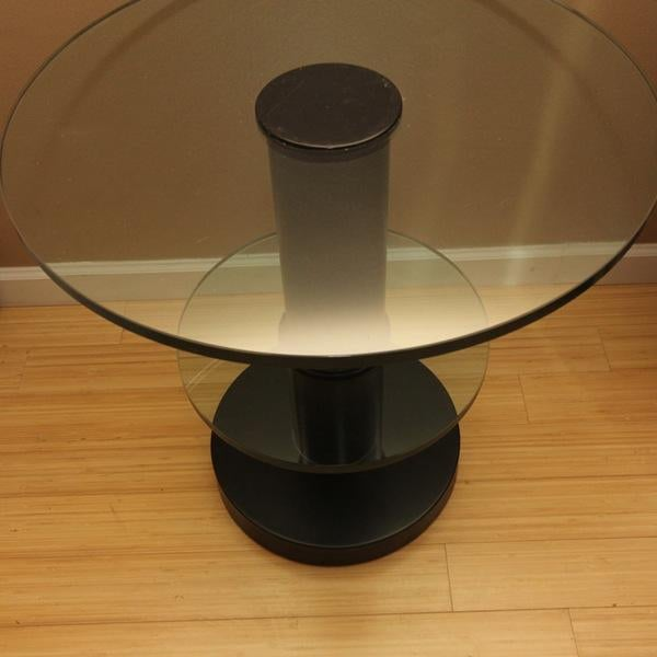 Modern Fontana Arte Gio Ponti Design Round Side/End Table For Sale - Image 3 of 10