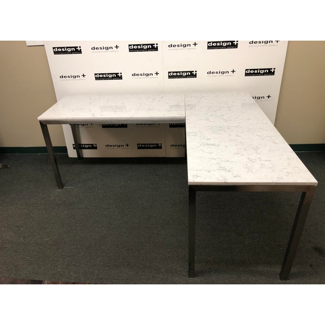 Portica Desk and Return, by Room & Board For Sale - Image 13 of 13