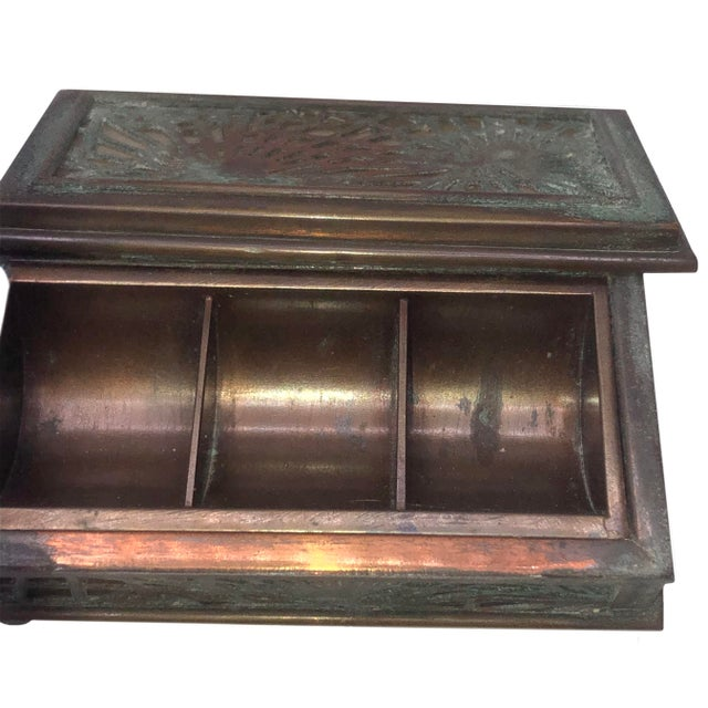 1910s Tiffany Studios Stamp Box For Sale - Image 5 of 8