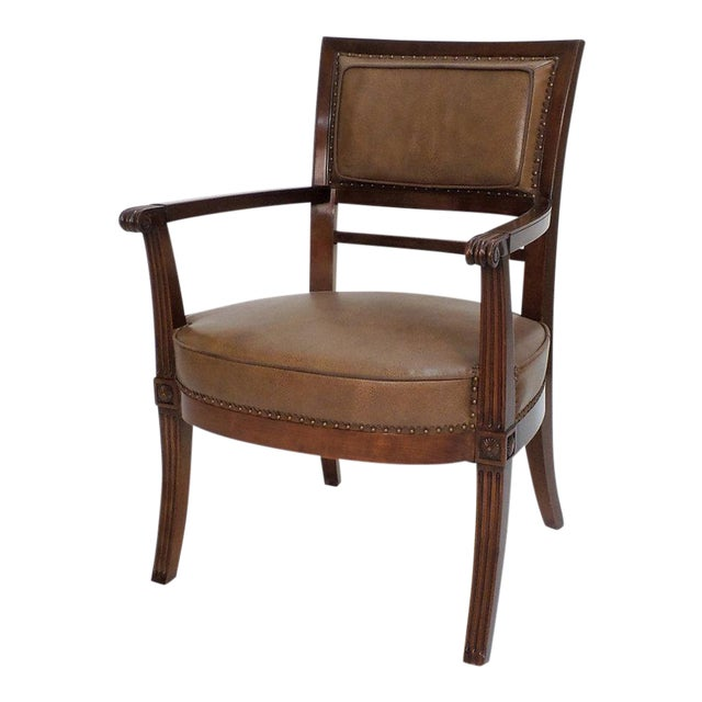 Empire Armchair For Sale