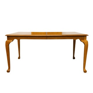 "20th Century French Country American Drew Saxony Collection 95"" Dining Table For Sale"