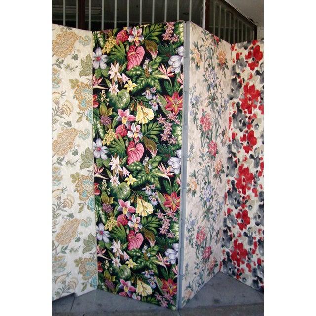 Modern Patterned Room Divider For Sale - Image 4 of 12