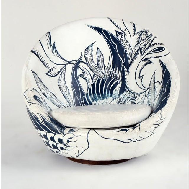 Milo Baughman Thayer Coggin Swivel Egg Chair For Sale - Image 13 of 13