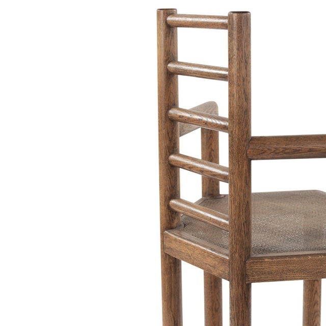 Not Yet Made - Made To Order Tamarisk Bar Stool in Brown For Sale - Image 5 of 6