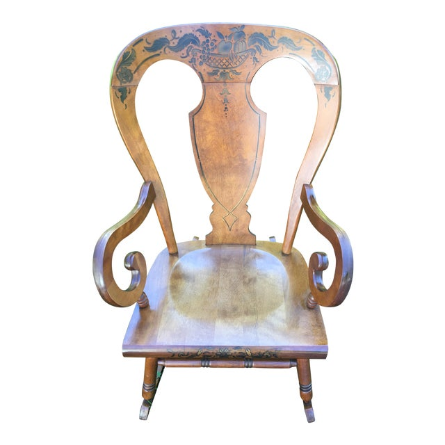 Tell City Balloon Back Rocking Chair - Image 1 of 8