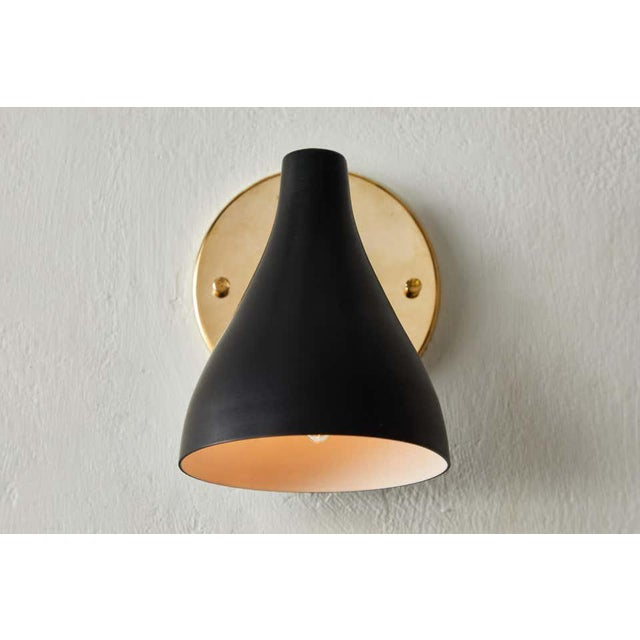 Mid-Century Modern Gino Sarfatti Model #26b Sconces for Arteluce - a Pair For Sale - Image 3 of 10
