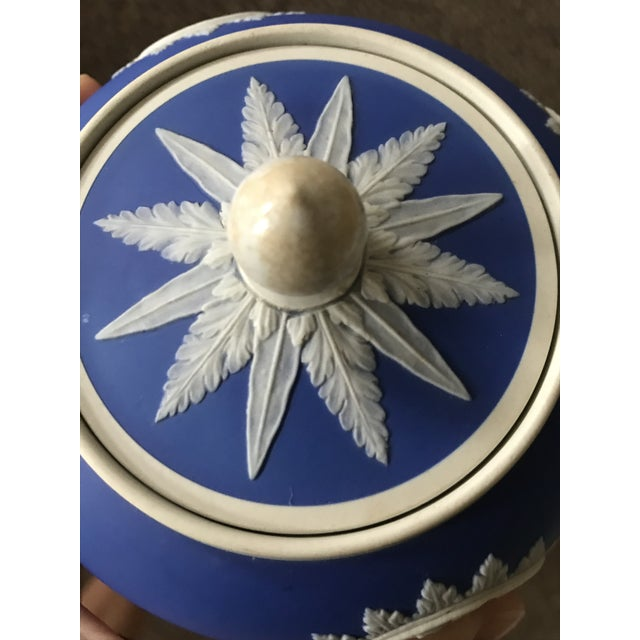 Neoclassical Wedgwood Jasperware Cream & Sugar Containers - 2 Pieces For Sale - Image 9 of 13