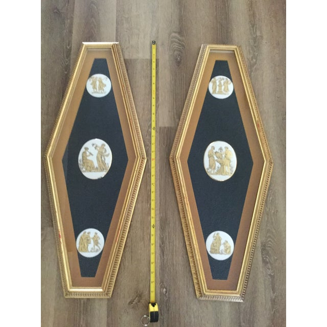 Mid Century Grecian Shadowbox by Andrew Kolb and Son Ltd - a Pair For Sale - Image 10 of 13