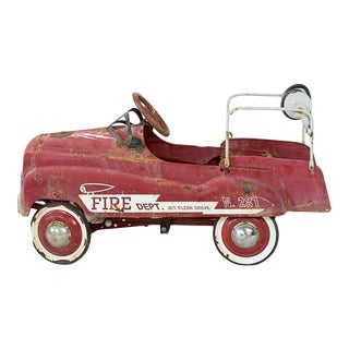 Fire Engine Pedal Car For Sale