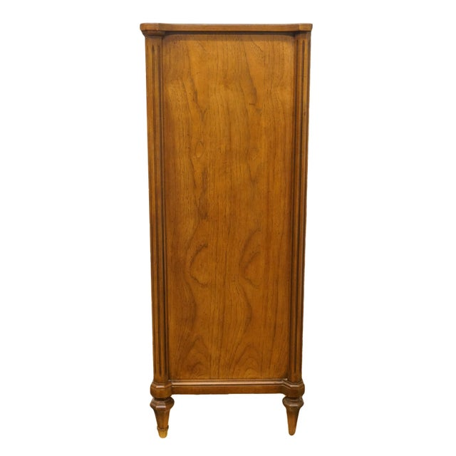 """Brown 20th Century Italian Century Furniture Neoclassical Tuscan Style 36"""" Chest of Drawers For Sale - Image 8 of 11"""