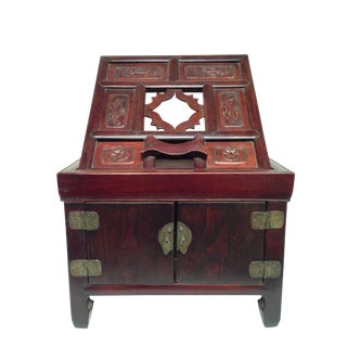Asian Antique Jewelry Box For Sale