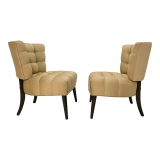 Billy Haines Style Slipper Chairs For Sale