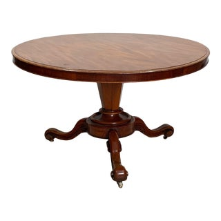 William IV Mahogany Center Table For Sale