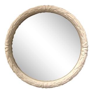 Hollywood Regency Guirlande Round Wall Mirror
