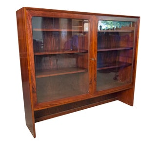1960s Vintage Brouer Rosewood Display Cabinet Preview