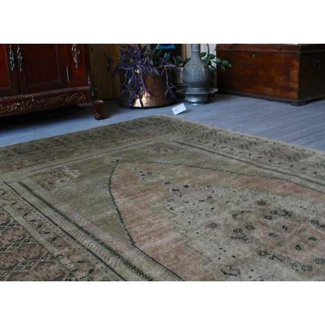 Vintage Hand Knotted Anatolian Rug For Sale In Raleigh - Image 6 of 10
