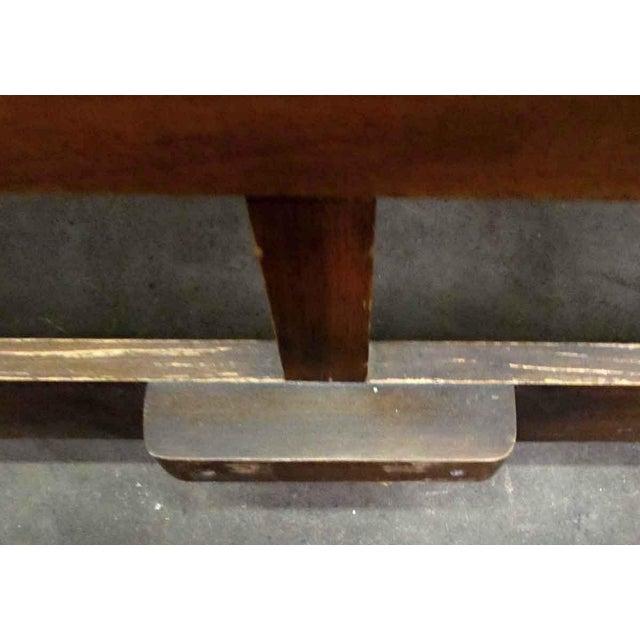 Golden Oak Headboard For Sale - Image 6 of 9