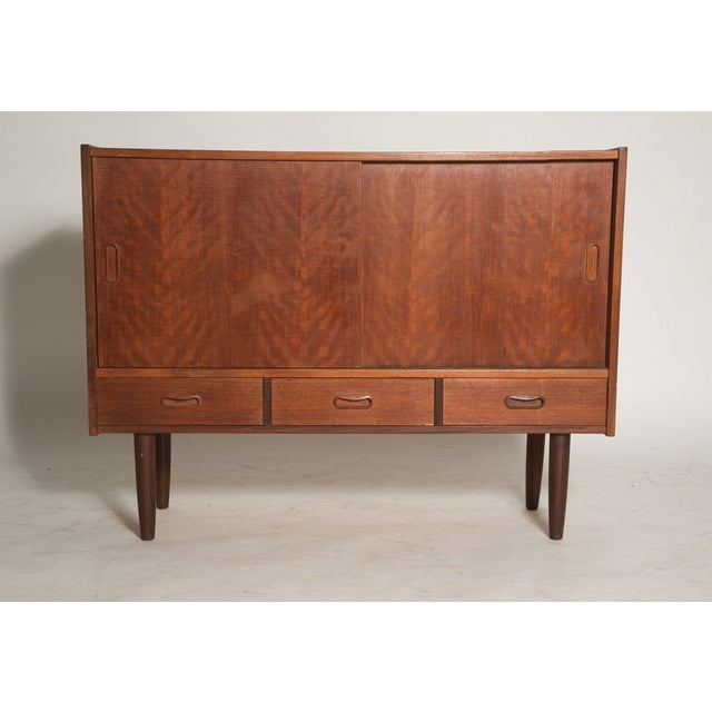 Danish Demi Credenza in Teak - Image 5 of 7