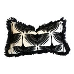 Black Swan 12x21 Pillow Cover With Fringe