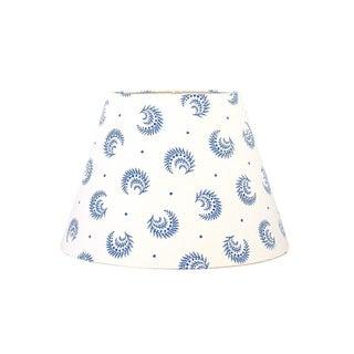China Blue Desmond Sister Parish Fabric Lamp Shade For Sale