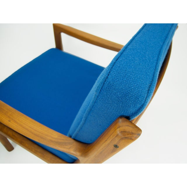 Wood Ole Wanscher for France & Son 'Senator' Armchair For Sale - Image 7 of 13